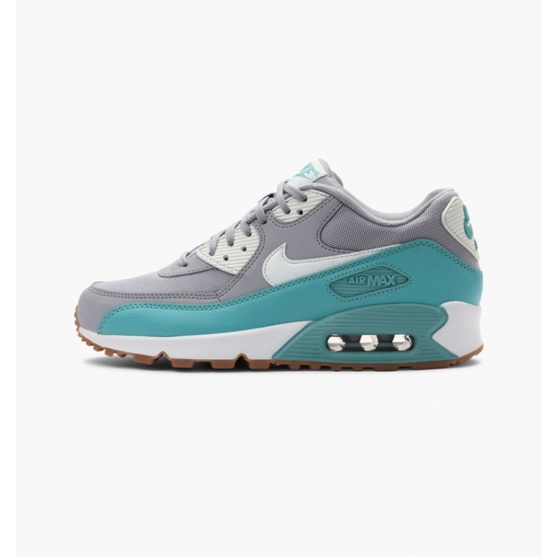 Nike Women's Air Max 90 Essential 616730-032 Grey ,Green