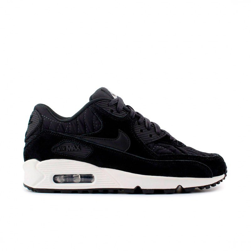 Nike Women's Air Max 90 Premium 443817-009 Black
