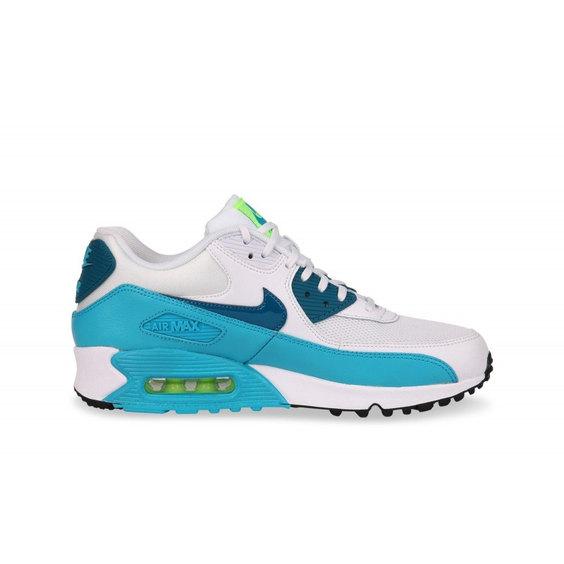 Nike Women's Air Max 90 Essential 616730-029 White ,Green ,Blue