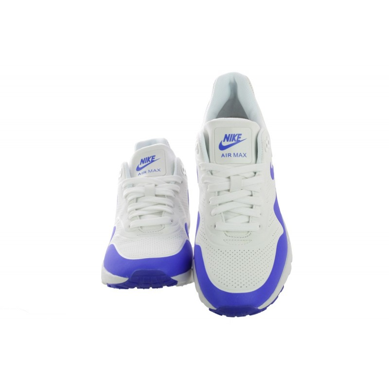 Nike Women's Air Max 1 Ultra Moire 704995-100 White ,Blue
