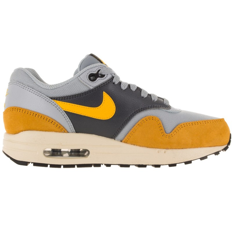 Nike Women's Air Max 1 Essential 599820-021 Grey ,Gold