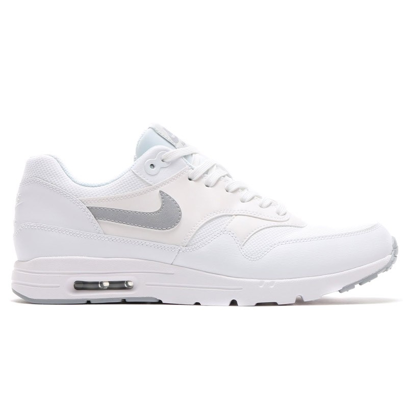 Nike Women's Air Max 1 Ultra Essentials 704993-102 White ,Silver ,Grey