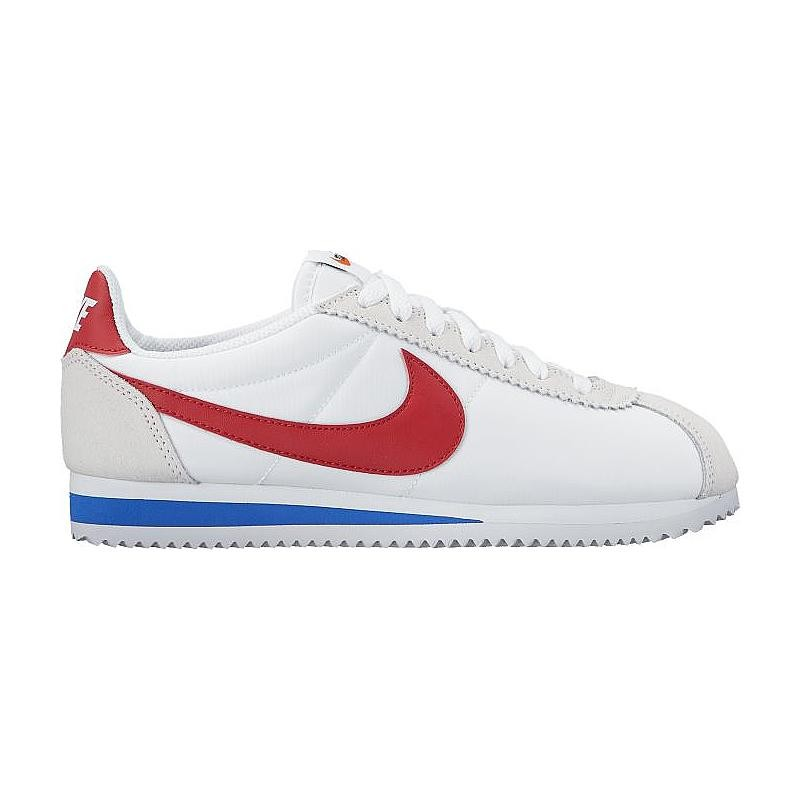 Nike Women's Classic Cortez Nylon Premium 882258-101 White ,Red