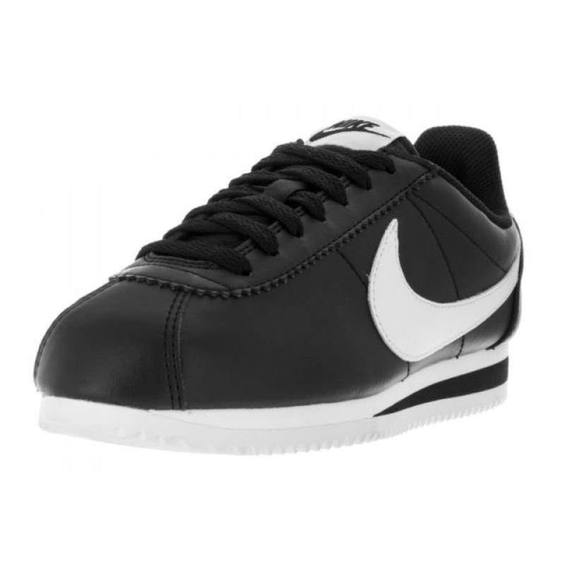 Nike Women's Classic Cortez Leather 807471-010 Black ,White