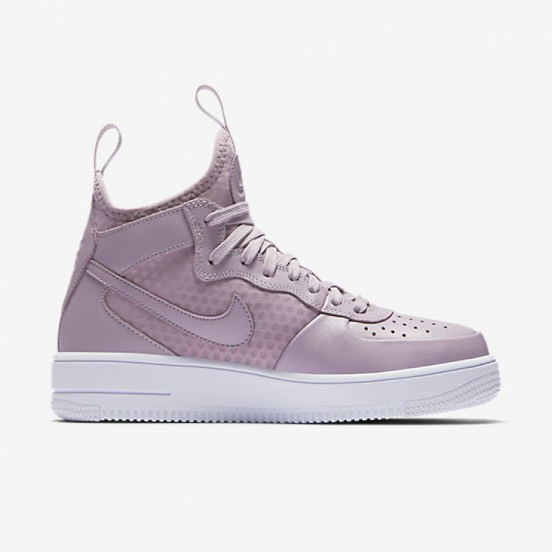 Nike Women's Air Force 1 Ultraforce Mid 864025-500 Black ,White