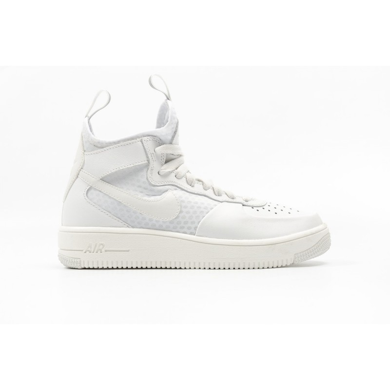 Nike Women's Air Force 1 Ultraforce Mid 864025-100 White