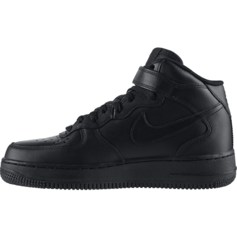 Nike Women's Air Force 1 Mid '07 LE 366731-001 Black