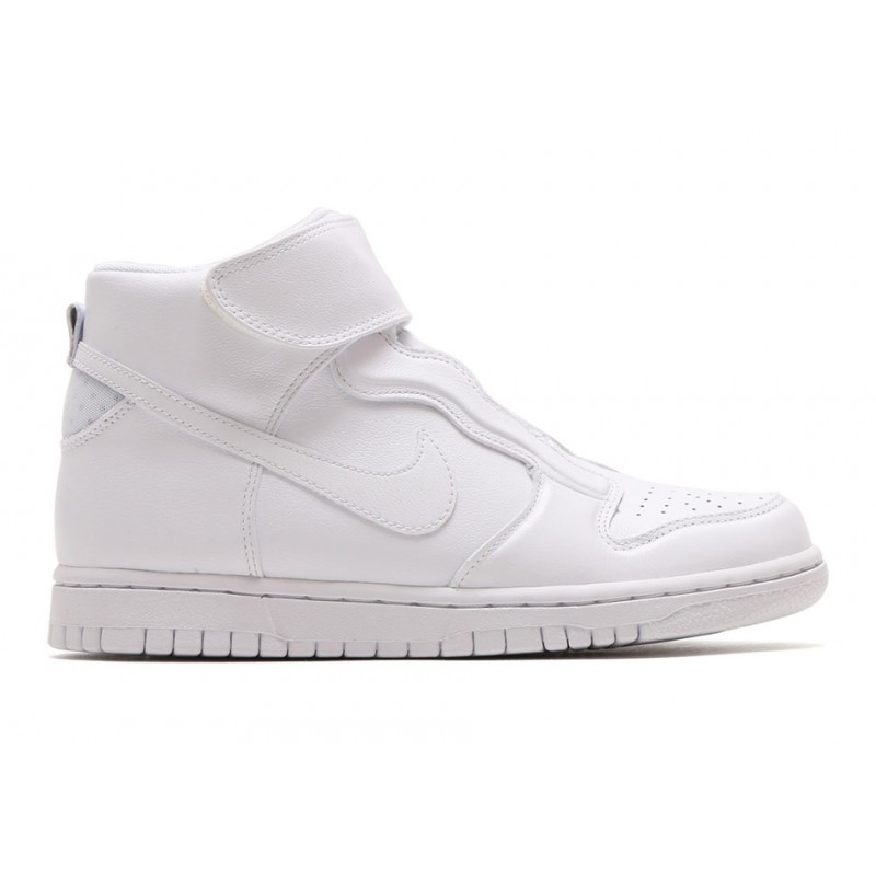 Nike Women's Dunk High Ease 896187-101 White ,Black