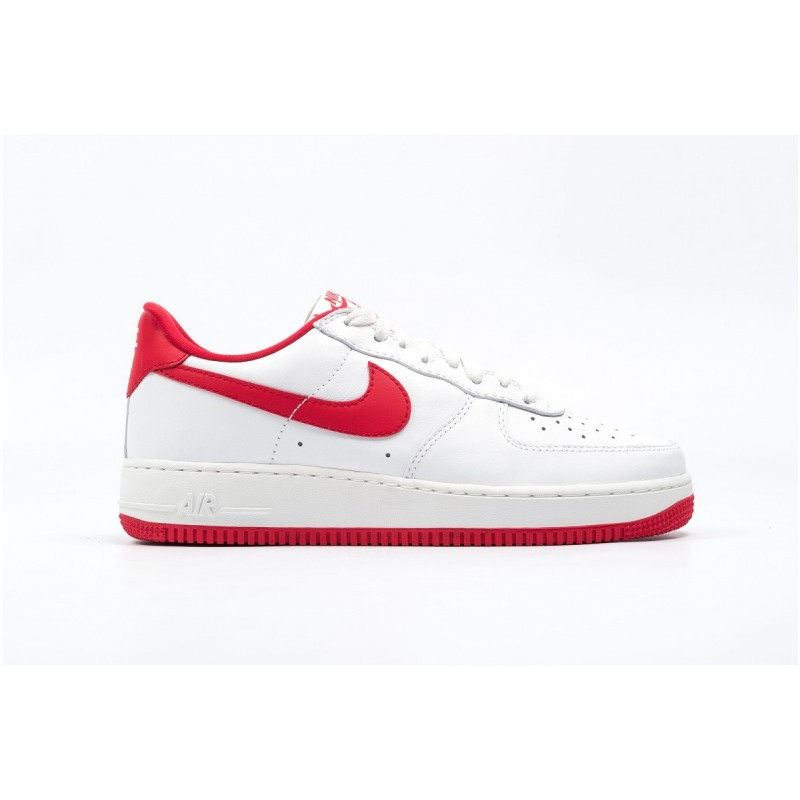 Nike Air Force 1 Low Retro 845053-100 White ,Red