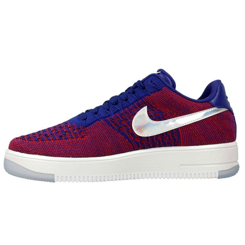 Nike AF1 Ultra Flyknit Low Prm 826577-601 Red ,Blue ,White