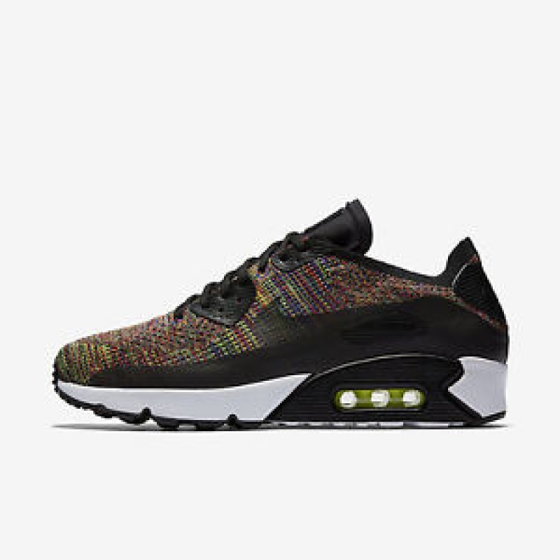 Nike Air Max 90 Ultra 2.0 Flyknit 875943-002 Black ,Blue