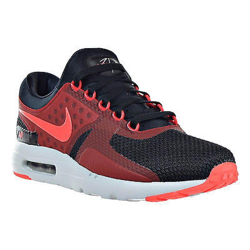 Nike Air Max Zero Essential 876070-007 Black ,Red ,Grey