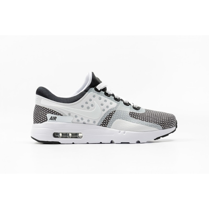 Nike Air Max Zero Essential 876070-005 Black ,White ,Grey