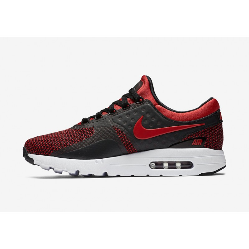 Nike Air Max Zero Essential 876070-600 Red ,Black
