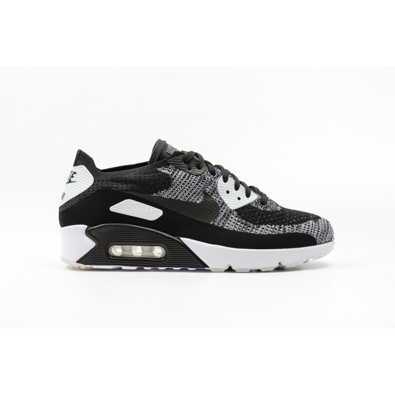 Nike Air Max 90 Ultra 2.0 Flyknit 875943-001 Black ,White