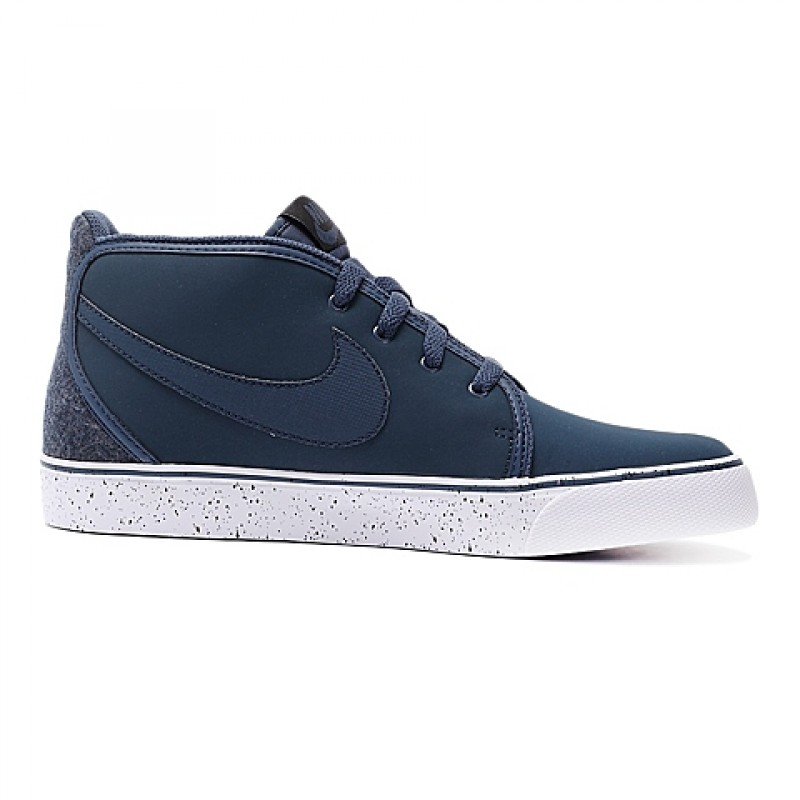 Nike Toki Leather 555317-440 Black ,White