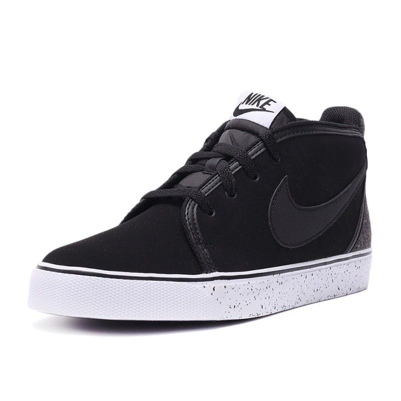 Nike Toki Leather 555317-004 Black ,White