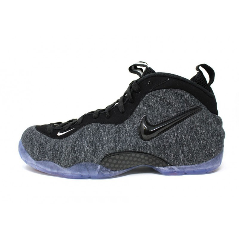 Nike Air Foamposite ProTech Fleece624041-007 Grey ,Black