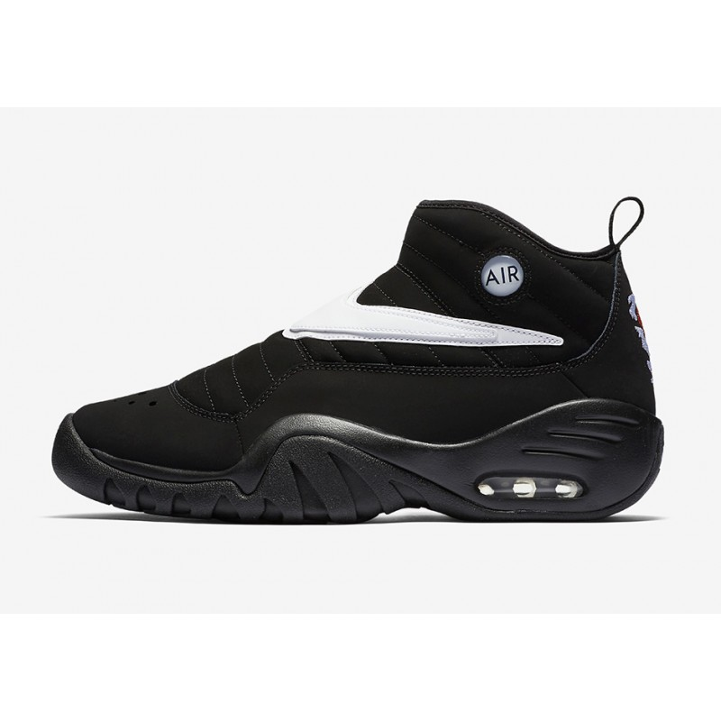 Nike Air Shake Ndestrukt 880869-001 Black ,White ,Orange