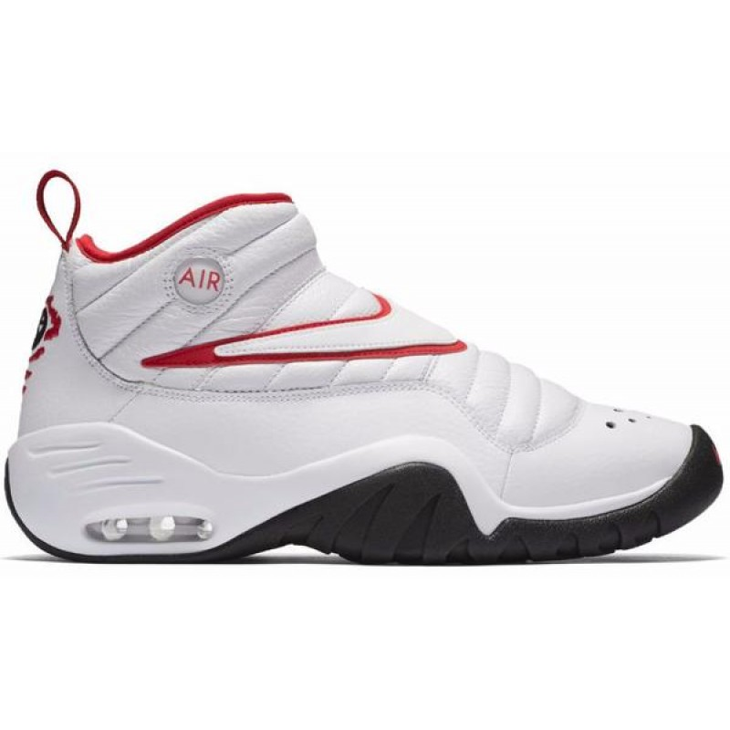 Nike Air Shake Ndestrukt 880869-100 White ,Red ,Black