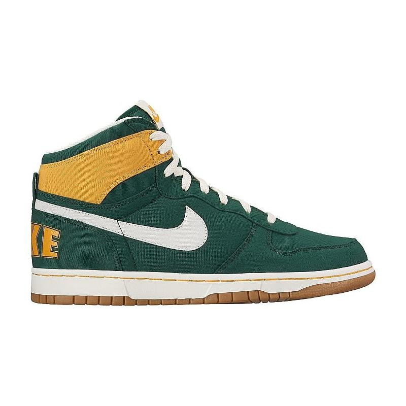 Nike Big Nike High Lux 854165-300 Green ,Yellow