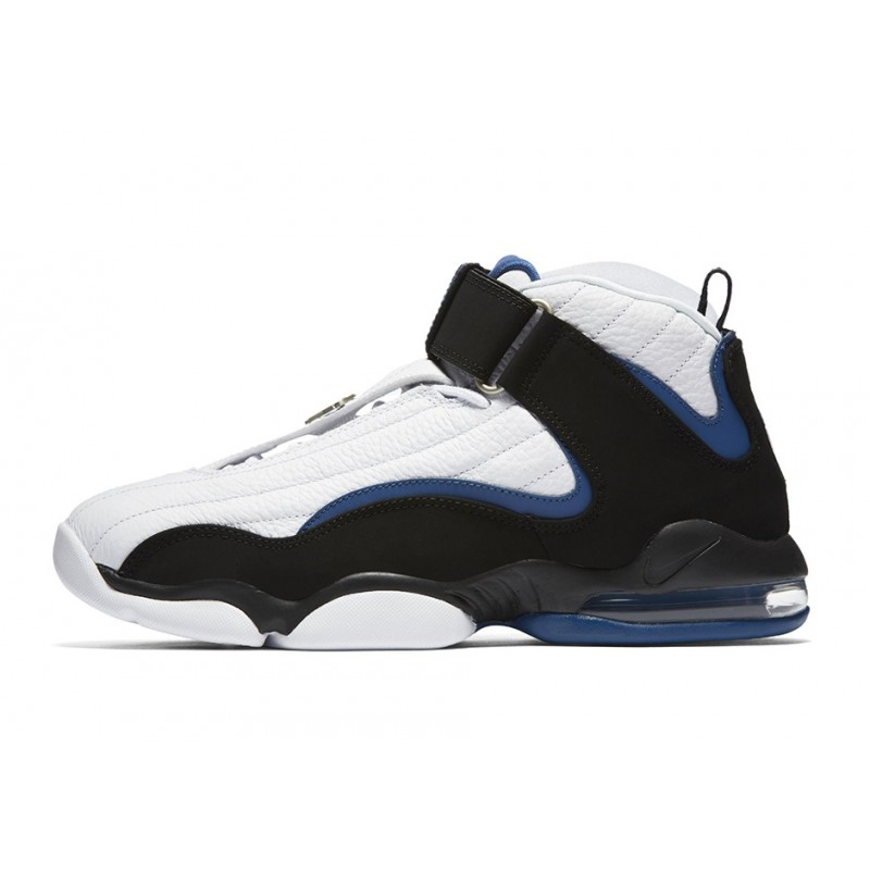 Nike Air Penny IV 864018-100 White ,Black ,Blue
