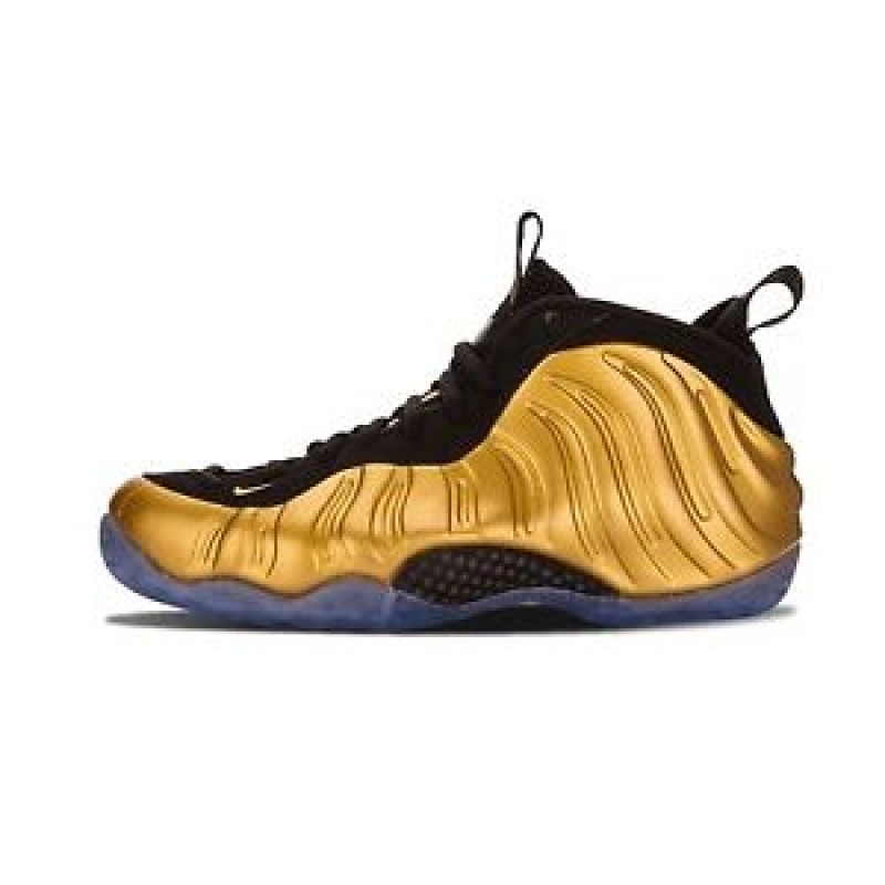 Nike Air Foamposite One 314996-700 Gold ,Black
