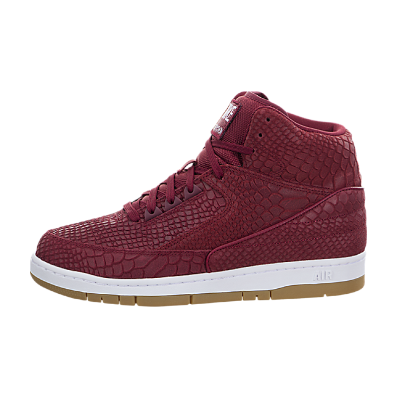 Nike Air Python Premium 705066-601 Red ,White ,Brown