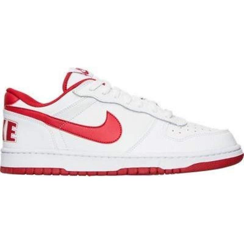 Nike Big Nike Low 355152-150 White ,Red