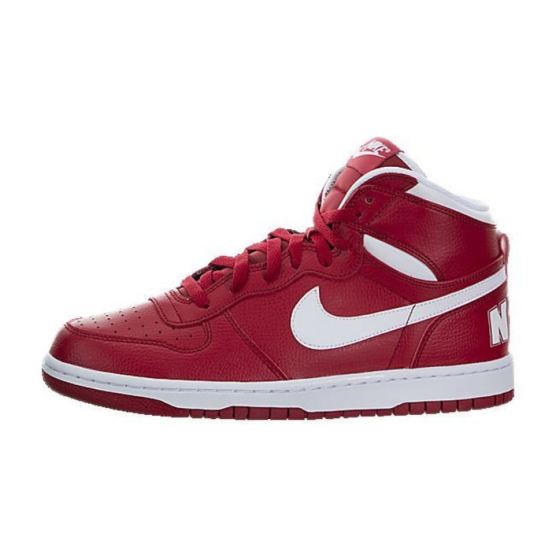 Nike Big Nike High 336608-610 Red ,White