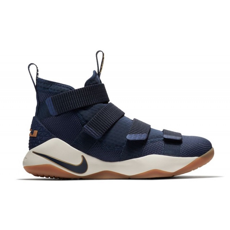 Nike Lebron Soldier XI 897644-402 Gold