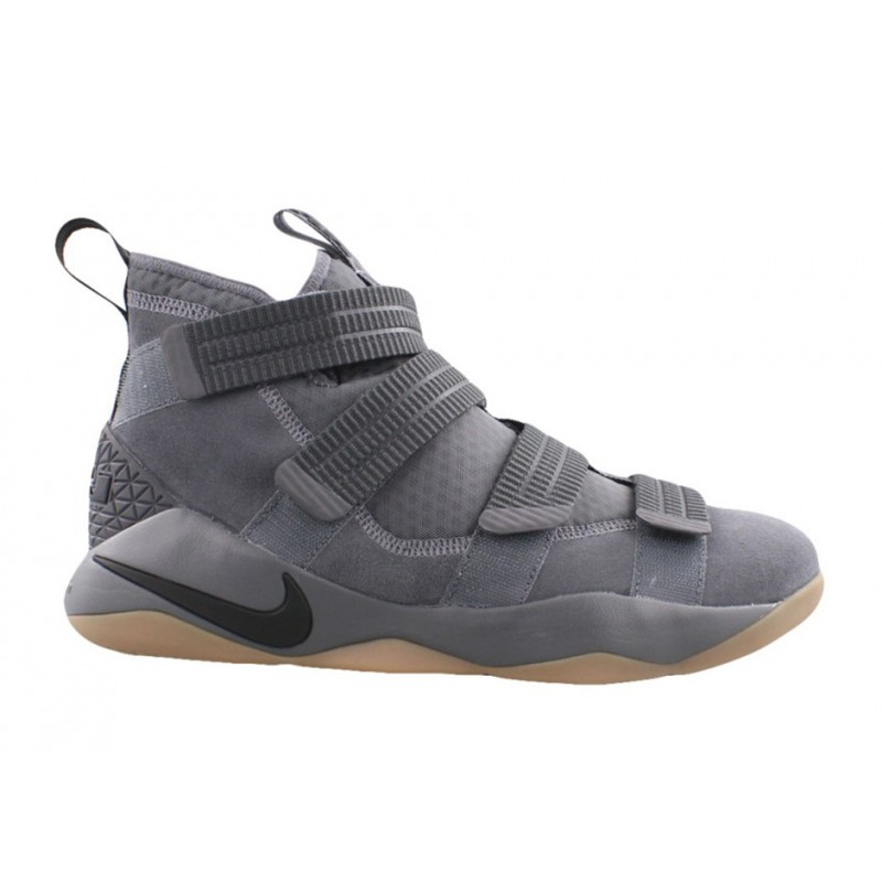 Nike Lebron Soldier XI SFG 897646-003 Grey ,Black ,Orange