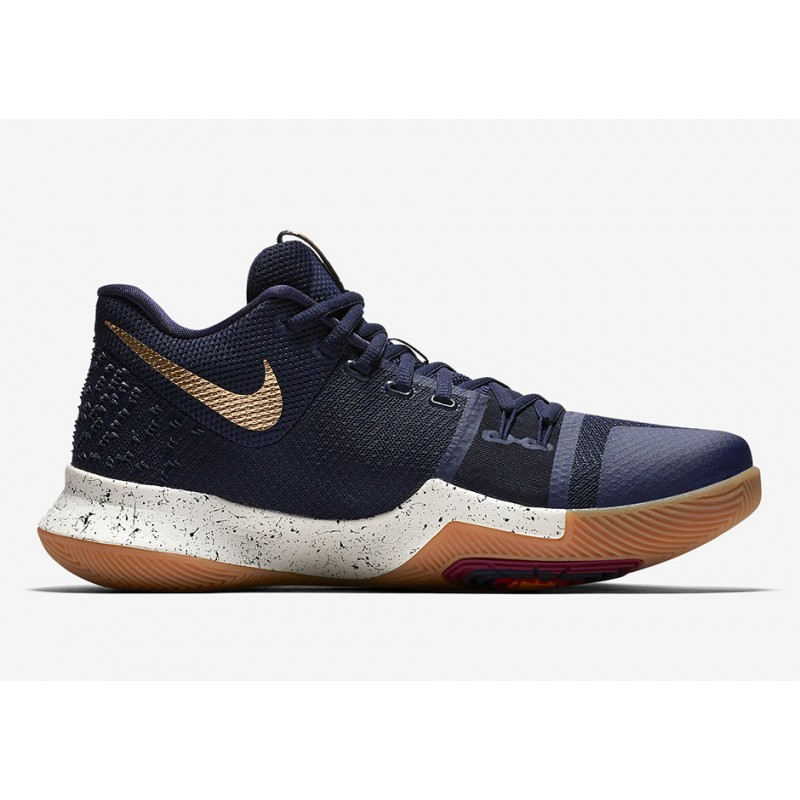Nike Kyrie 3 852395-400 Gold