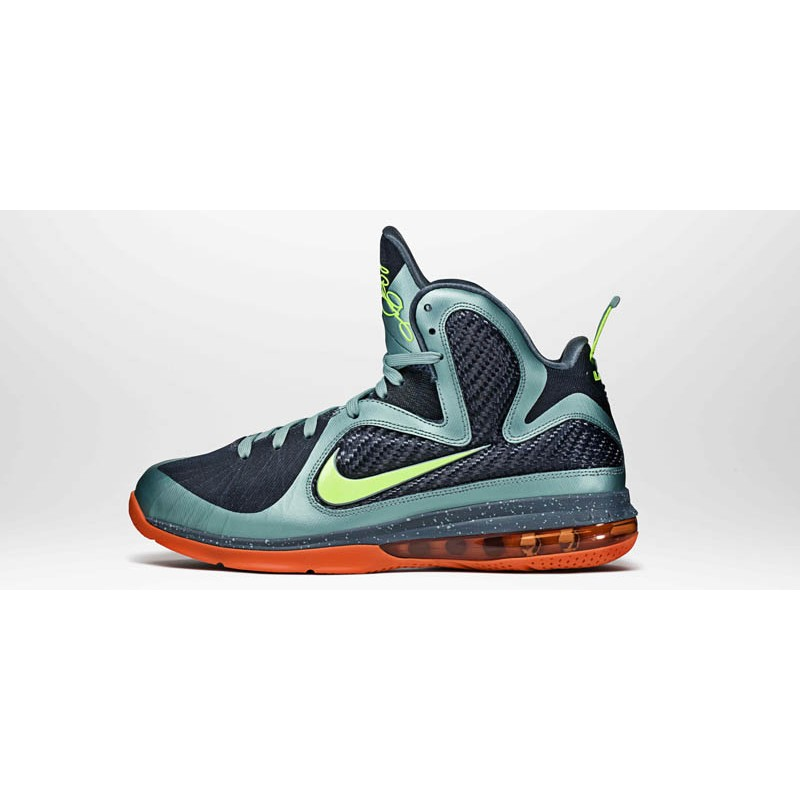 Nike Air Max LeBron 9Cannon469764-004 Blue ,Orange