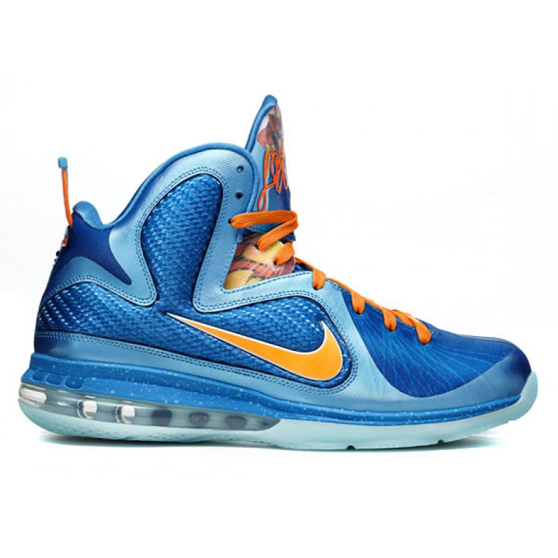 Nike Air Max LeBron 9China469764-800 Blue ,Orange