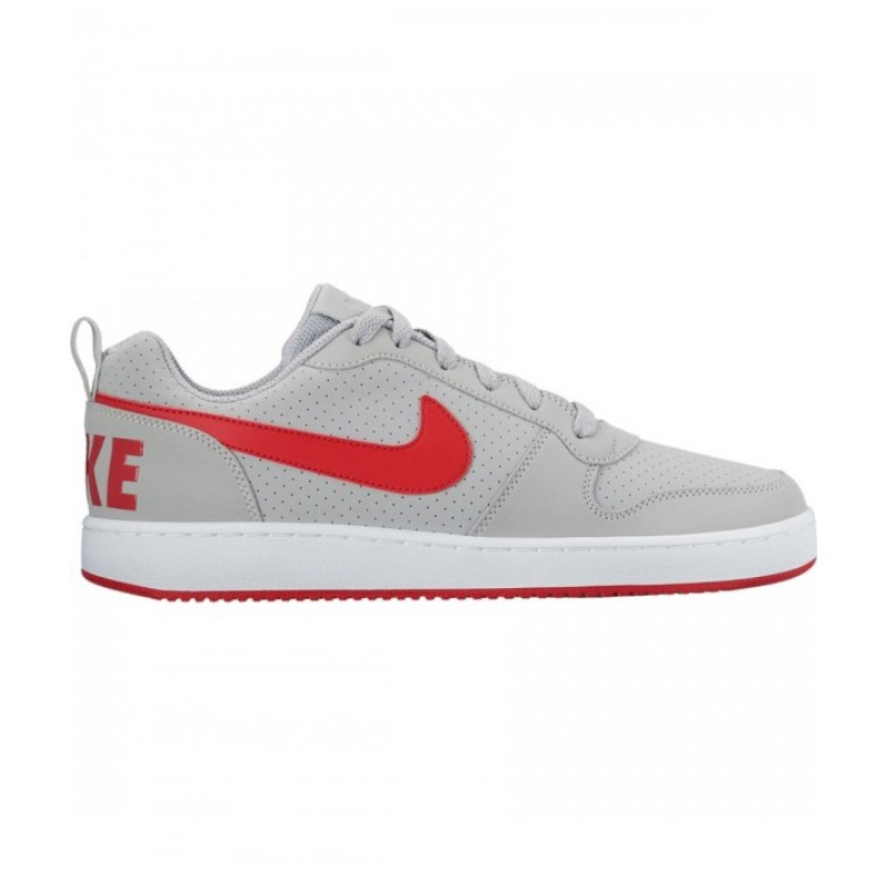 Nike Court Borough Low 838937-002 Grey ,Red ,White