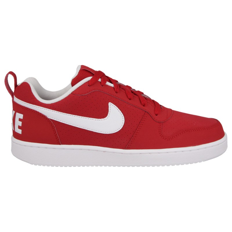 Nike Court Borough Low 838937-610 Red ,White