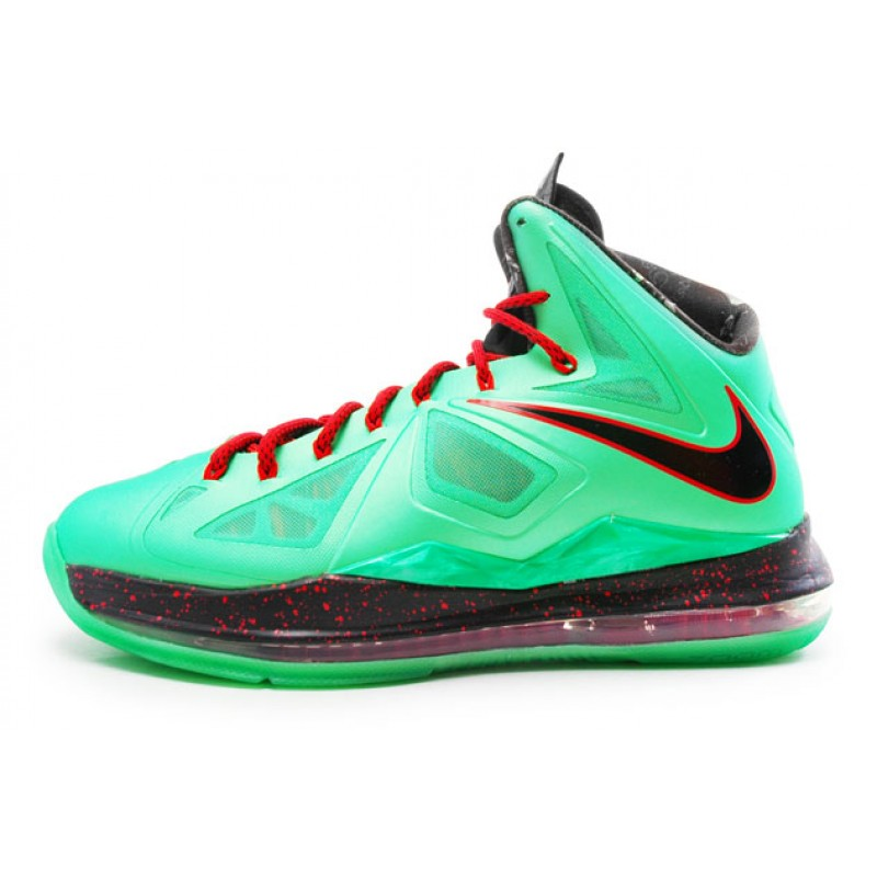 Nike LeBron XCutting Jade541100-303 Black ,Red