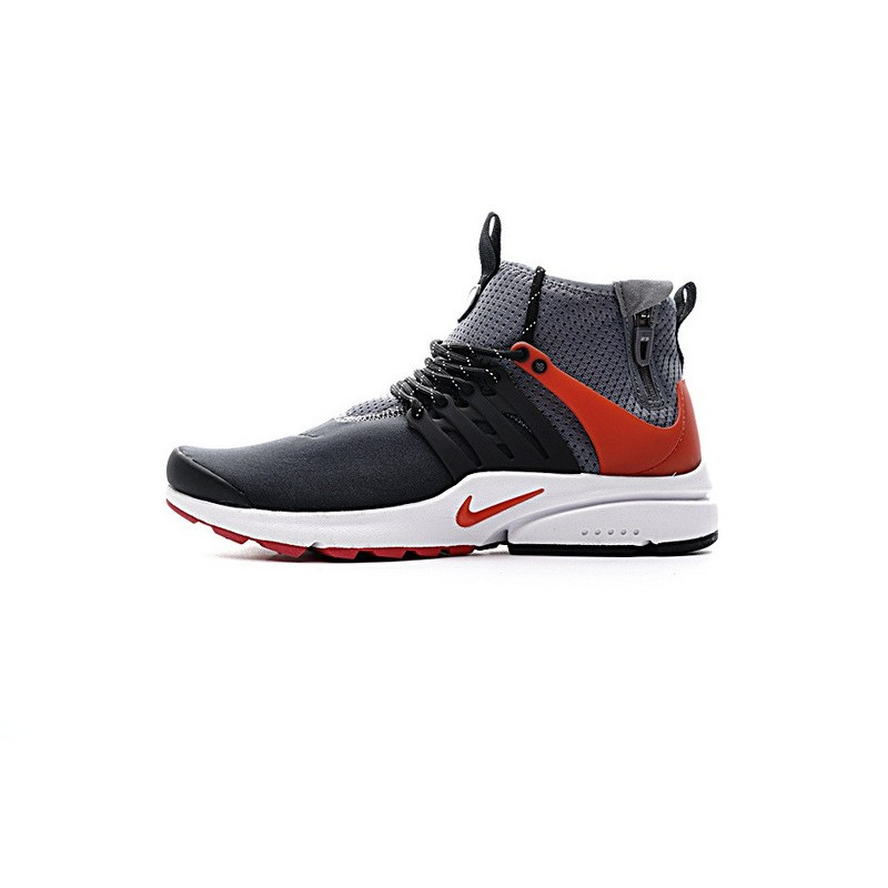 Nike Air Presto Mid Utility 859524-004 Grey ,Orange ,Black