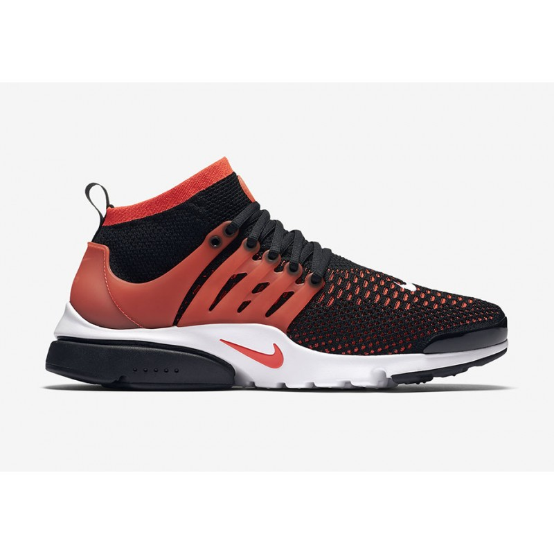 Nike Air Presto Ultra Flyknit 835570-006 Black ,White