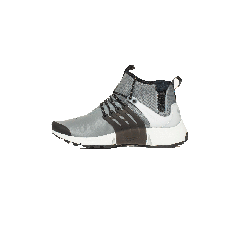 Nike Air Presto Mid Utility 859524-001 Grey ,Black ,White