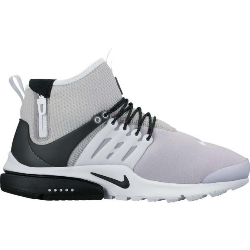 Nike Air Presto Mid Utility 859524-005 Grey ,Black ,White