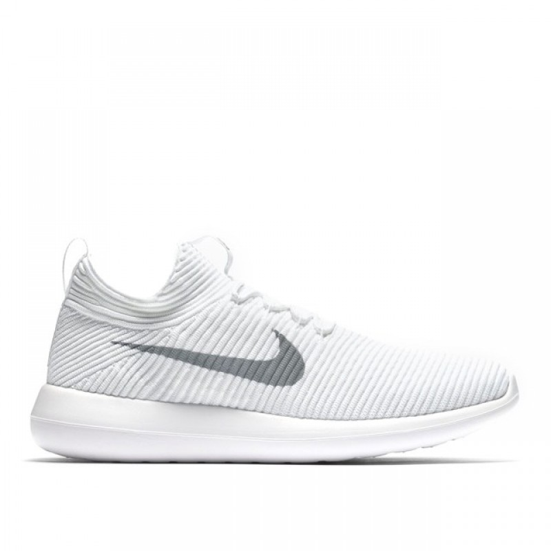 Nike Roshe Two Flyknit V2 918263-100 White ,Grey