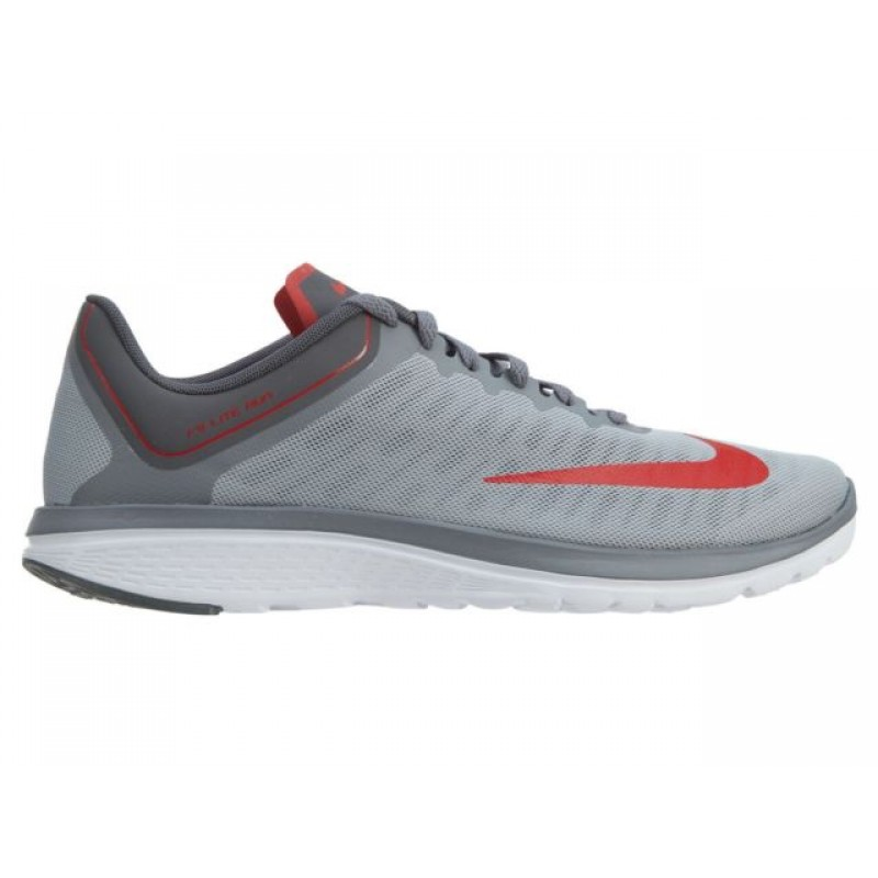 Nike FS Lite Run 4 852435-009 Grey ,Red ,Grey