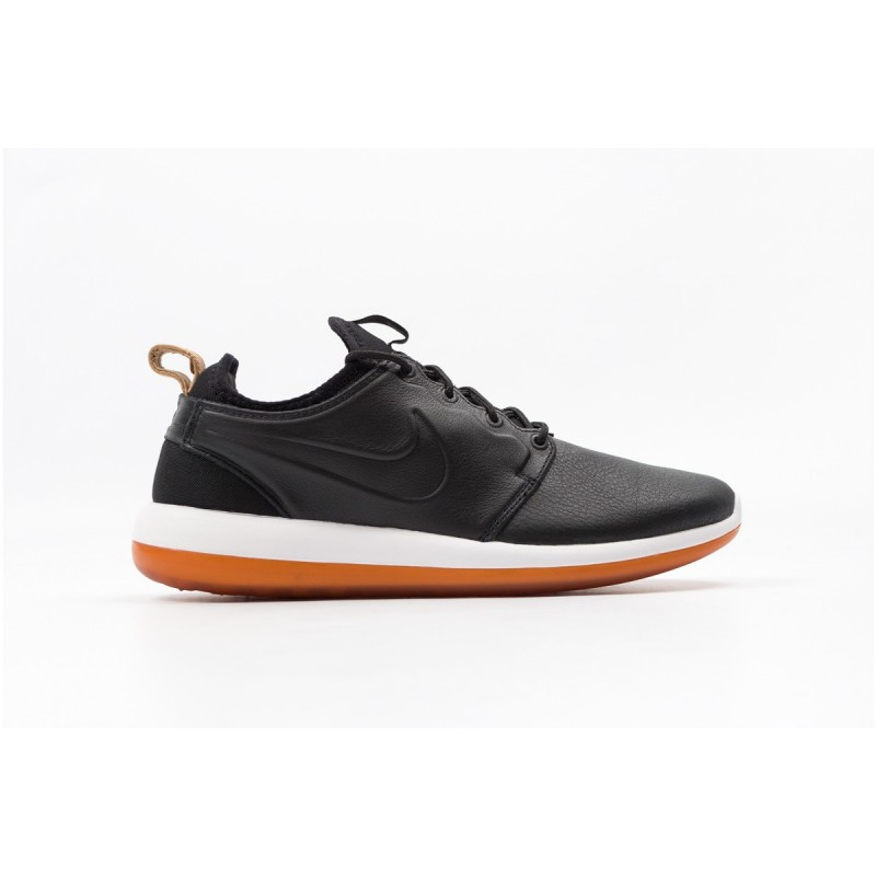 Nike Roshe Two Leather Premium 881987-001 Black ,White ,Brown