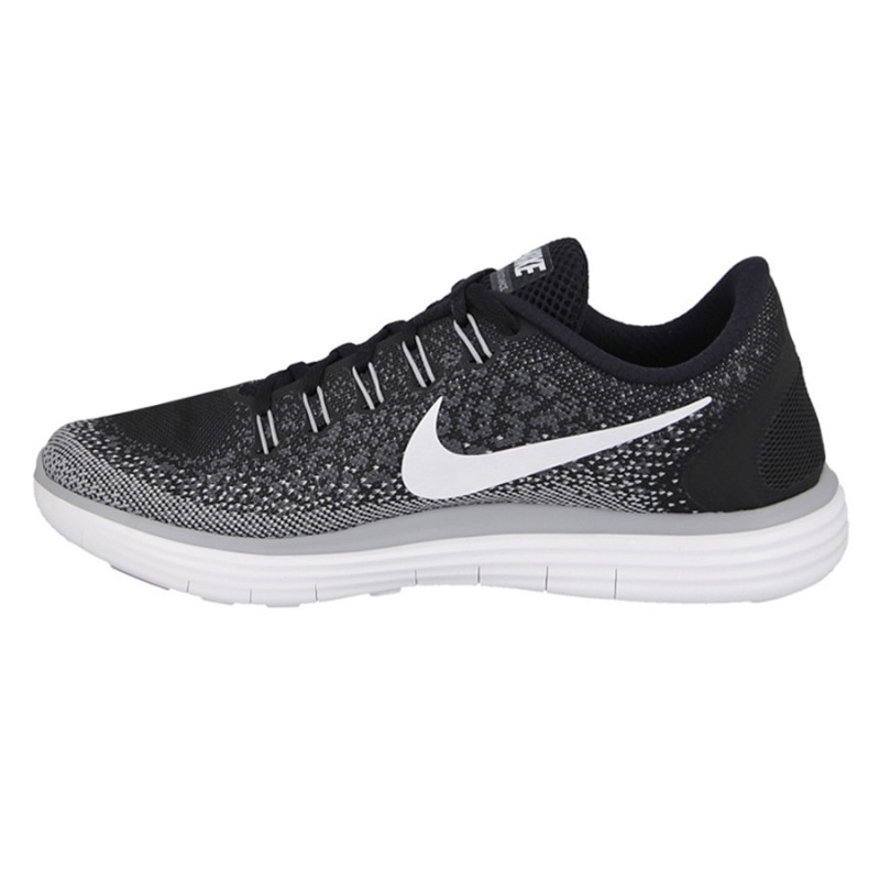 Nike Free RN Distance 827115-010 Black ,White ,Grey