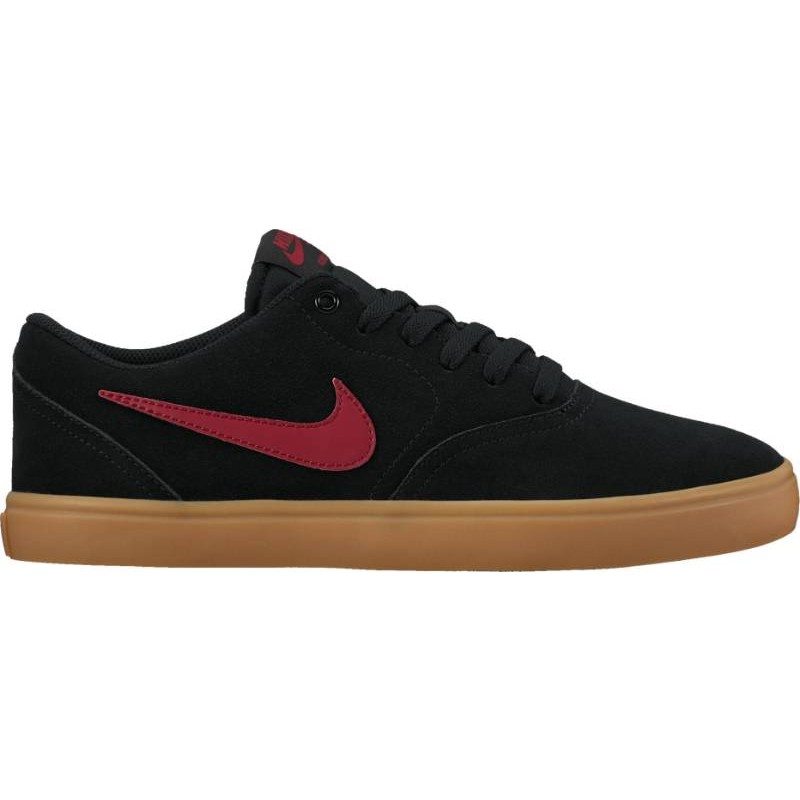 Nike SB Check Solarsoft 843895-069 Black ,Red ,Brown