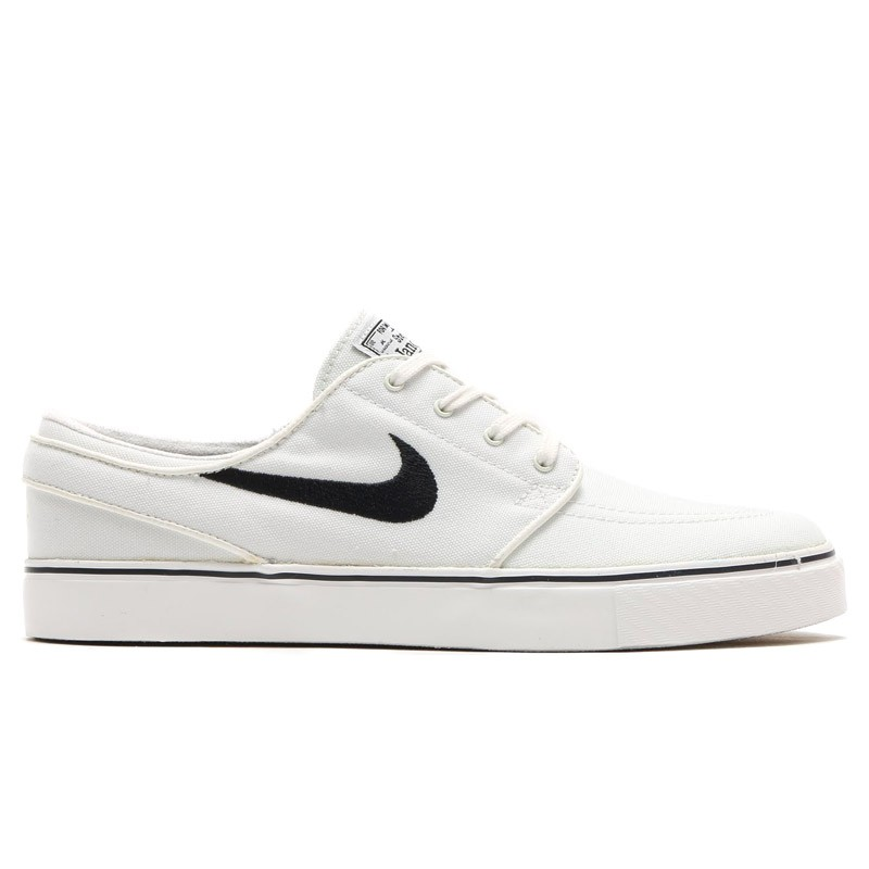 Nike SB Zoom Stefan Janoski Canvas 615957-100 White ,Black