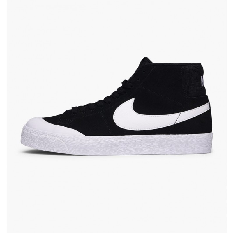 Nike SB Blazer Zoom Mid XT 876872-019 Black ,White ,Brown