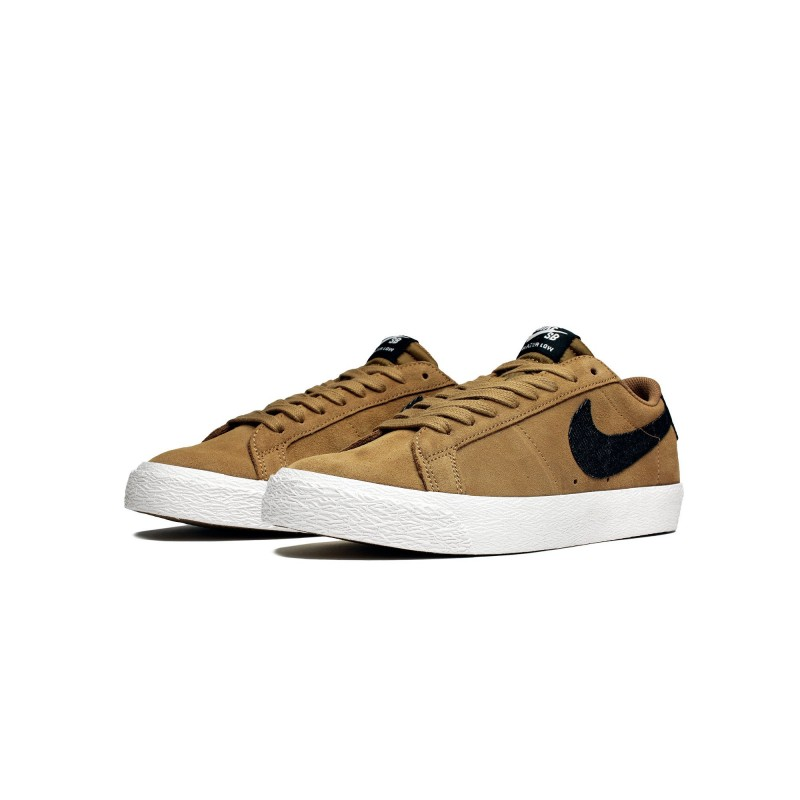 Nike SB Blazer Zoom Low 864347-201 Gold  ,Black